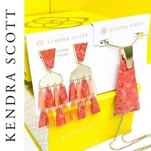 💥Kendra Scott💥Red Magnesite Set